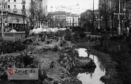 Foto del Antiguo Belén de Zaragoza